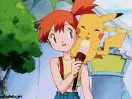 Pikachu likes ice cream