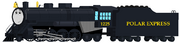 Polar express with a face in taf style by noahthegreentank-d9ixug2