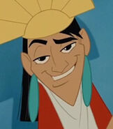 Kuzco in The Emperor's New Groove