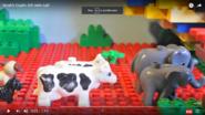 Noah's Ark Elephants Cows Dogs