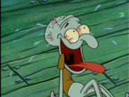 Squidward Crazy laughing