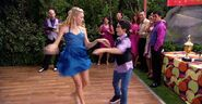 Emma and Luke at the Salsa Dance-Off