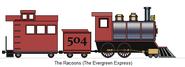 Evergreen express steam engine by railroadnutjob-d6uey3r