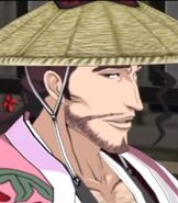 Shunsui Kyoraku in Bleach Soul Resurreccion