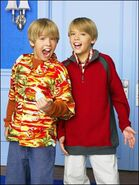 Zack & Cody as Twist & Shout