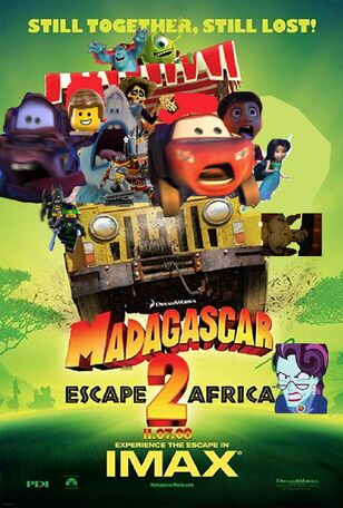 Madagascar 2 (LUIS ALBERTO VIDEOS GALVAN PONCE Style) Poster