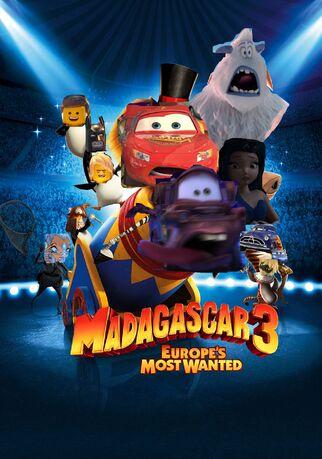 Madagascar 3 (LUIS ALBERTO VIDEOS GALVAN PONCE Style) Poster