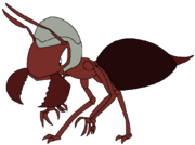 Num as a fire ant