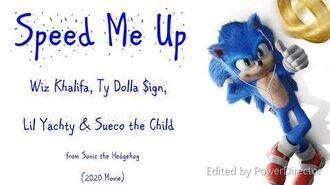 Speed Me Up Sonic Movie 2020 Lyrics