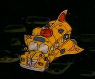 The Magic School Bus Space Shuttle Bus