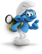 Brainy smurfs lost village