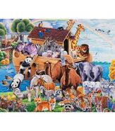 Noah's Ark Sheep Mice Chickens Sheepdogs Ducks Geese Cattle Donkeys Cats Pigs Turkeys Elephants