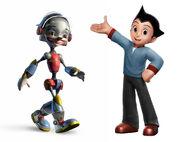 Pinocchio and Astro Boy