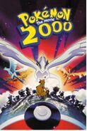 Pokemon Movie 2000 Poster dinosaurkingrockz style