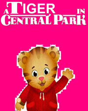 A Tiger in Central Park Poster