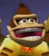 Donkey Kong in Mario Strikers Charged