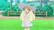 Sailor moon as Lillie