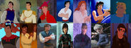 The Various Disney Princes (My Little Princes - The Movie)