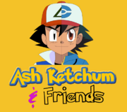 Ash Ketchum & Friends logo