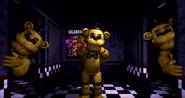 FNAF 1 Golden Freddy FNAF1's bodyguard