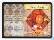 Ginny Weasley card