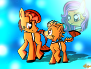 Marlin and Nemo ponified