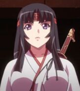 Tomoe in Queen's Blade