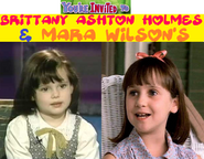 You're Invited to Brittany Ashton Holmes & Mara Wilson's