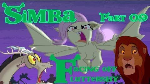 """Simba"" (Shrek) Part 09 - Facing Off Fluttershy"