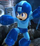 Mega Man in Super Smash Bros. for Wii-U and 3DS