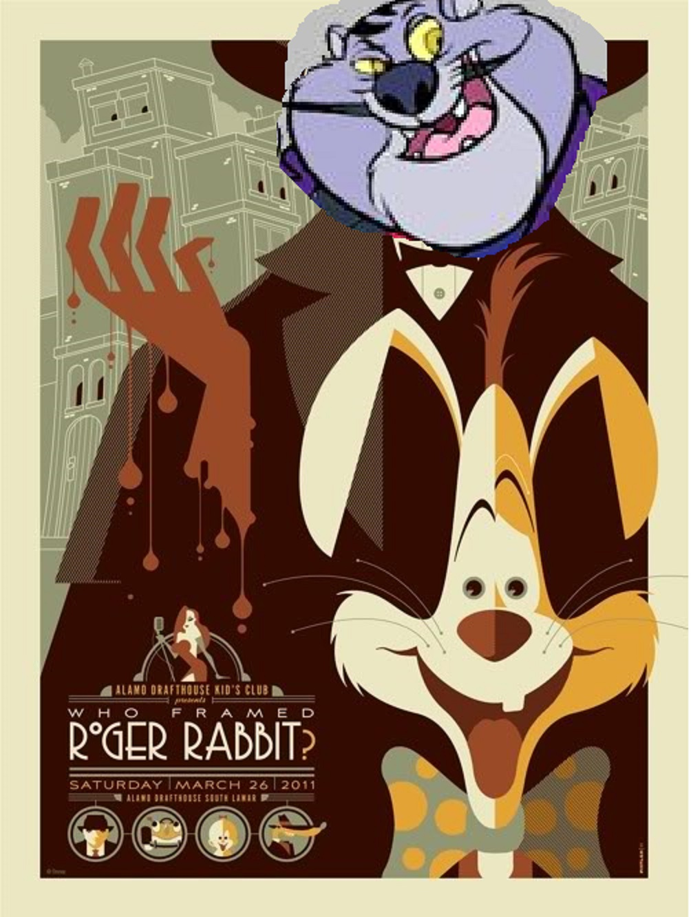 Who Framed Roger Rabbit (4000Movies Style) | The Parody Wiki ...