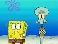 Spongebob and squidward heard patrick