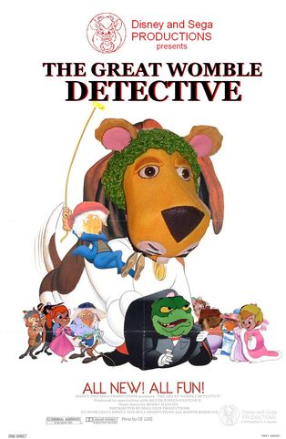 The Great Womble Detective Poster