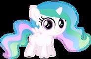 Filly Princess Celestia