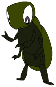 Joey as a dung beetle