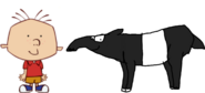 Stanley Griff meets Malayan Tapir