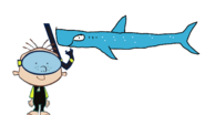 Stanley Griff meets Whale Shark