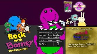 Barney and the Backyard Gang Crossover Series Rock With Barney The Crossover (FINAL VIDEO)