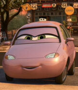 Minny in Cars 2