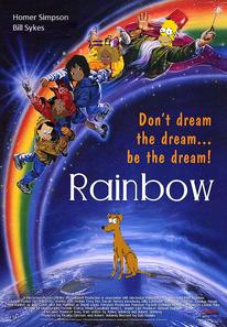 Rainbow (brucesmovies1 style) poster
