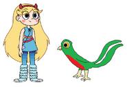 Star meets Quetzal