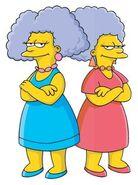 The Simpsons Patty & Selma