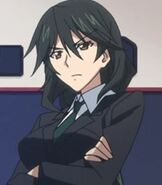 Chifuyu Orimura in Infinite Stratos
