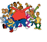 Fat Albert and the gang.