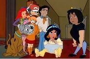 Mowgli Bravo with Scooby Doo and Friends
