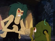 Revolta and Grim Creeper in Scooby Doo and the Ghoul School 01
