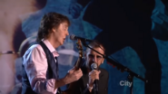 Ringo Starr and Paul McCartney Singing With A Little Help From My Friends