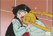 Serena Hugging Raye