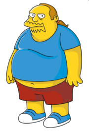 The Simpsons Comic Book Guy