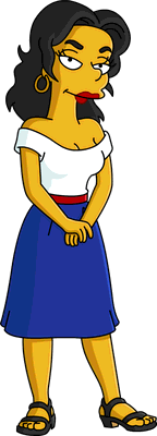 The Simpsons Francesca Terwilliger